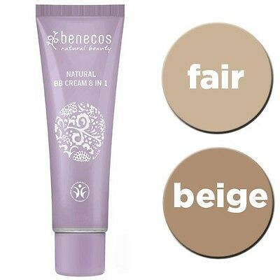 BB Cream BENECOS Make Up Naturale BBCream Crema Colorata Beige Fair 30 ml