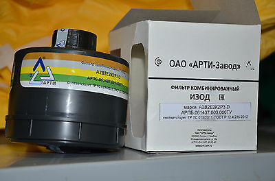NEW A2B2E2K2P3D replacement gas mask filter NATO ISRAEL USSR 40mm canister