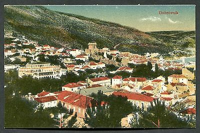 C1920's View of Dubrovnik Town, Croatia