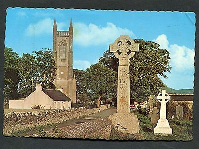 View of Drumcliff Church & High Cross, Sligo, Eire. Posted 1968