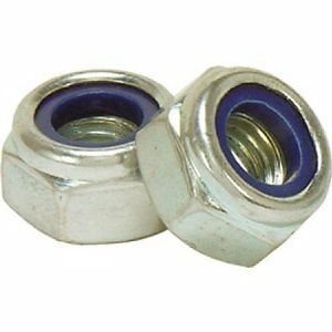 Vespa Wheel Nuts and Washers Nyloc - Stainless Steel PX125 PX 200 T5 LML DISC