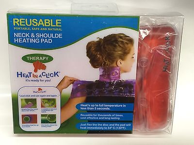 HEAT IN A CLICK- REUSABLE-Neck and Shoulder Heating Pad Therapy - 6940594500064