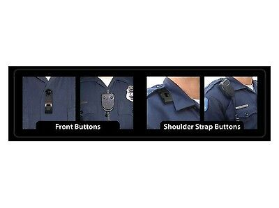 Police Firefighter Ems Emt Motorola Radio Mic Mike Keeper Shirt Clip Holder Tmk1