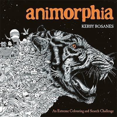 Adult Colouring Book ANIMORPHIA Coloring In New Aussie Stock Art Fun Relax Gift