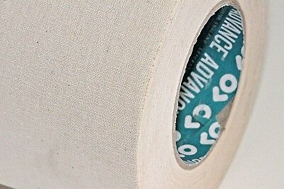 White Unbleached Cloth Canvas Tape Various Sizes