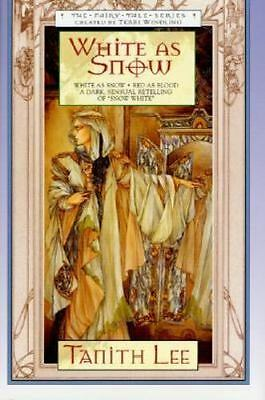 White as Snow (Fairy Tale Series)-ExLibrary
