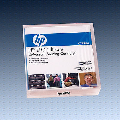 HP LTO, C7978A, Universal Reinigungskassette, Cleaning Cartridge, NEU & OVP