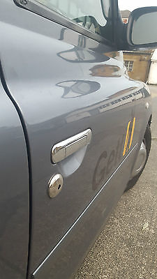 London Taxi Tx1 Tx2 Tx4 Stainless Steel Chrome Door Handle Cover Trims  8 Pcs