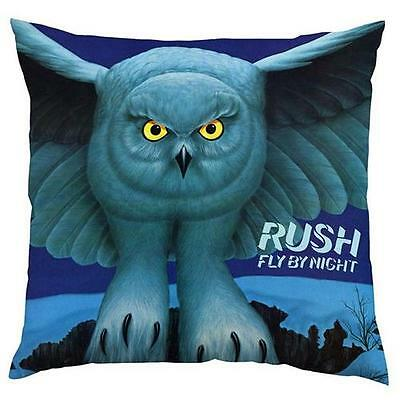 Rush - Fly By Night Cotton Plush square Cushion - New & Official