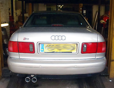 Audi A8 4.2 Quattro Custom stainless steel cat back exhaust system