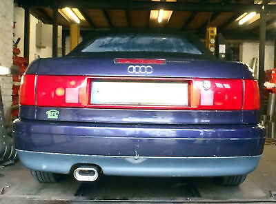 Audi Cabriolet 1.8 / 2.0 Custom stainless steel cat back exhaust system