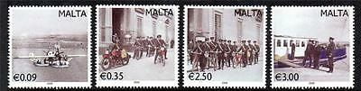 Malta Mnh 2009 Sg1615-1618 Vintage Postal Transport Set Of 4