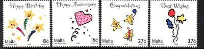 Malta Mnh 2006 Sg1495-1498 Occasions Set Of 4