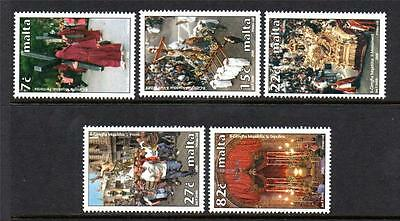 Malta Mnh 2006 Sg1477-1481 Holy Week Set Of 5