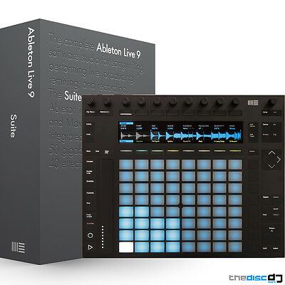 Ableton Push 2 Music Production Controller + Ableton Live 9 Suite Bundle (Boxed)