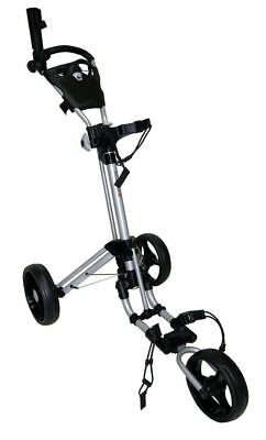 Brand New Qwik-Fold Deluxe 3-Wheel Golf Buggy - Black