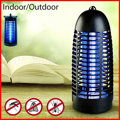 Insect Bug Fly Zapper Killer Electric Mosquito Pest Catcher UV 6W Indoor Lamp