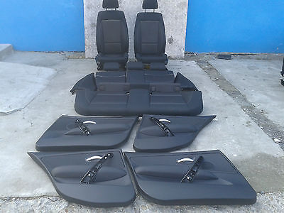 BMW 1 SERIES E87 LCI E87N Cloth Interior Seats with Airbag and 4 Door Cards