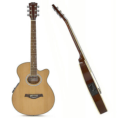 New Thinline Electro Acoustic Guitar by Gear4music