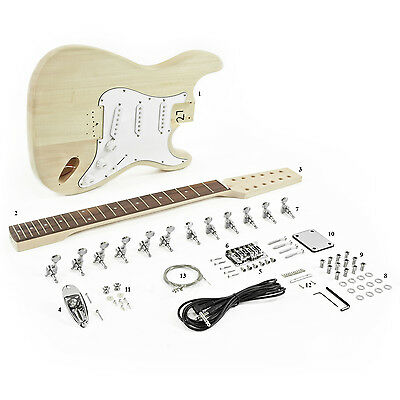 New 12 String LA Electric Guitar DIY Kit