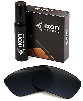 Polarized IKON Replacement Lenses For Oakley Fuel Cell Sunglasses Black