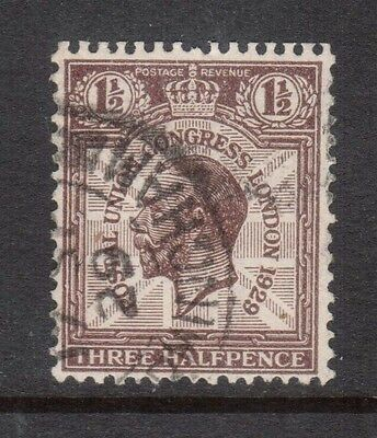 Great Britain #207a VF Used Watermarked Sideways