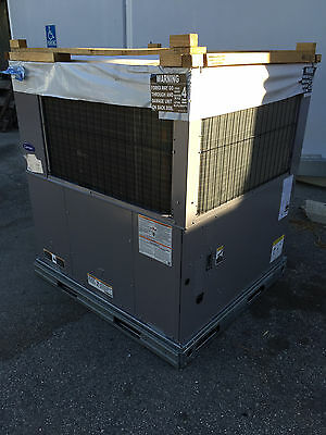 Carrier 5 Ton Packaged Unit 14 Seer 230V 1Ph Gas Heater Ac R410A 48Vl-B600903