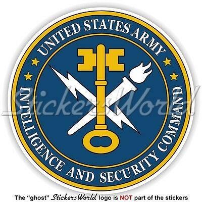 US ARMY Intelligence and Security Command INSCOM Siegel USA Amerika Aufkleber