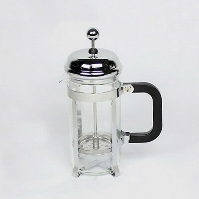 350ml Stainless Steel Glass Tea Coffee Cup french Plunger Press Maker N