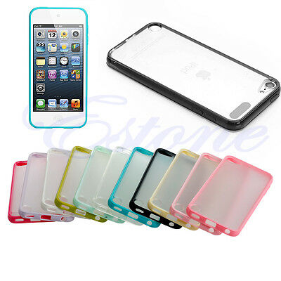 1Pc Hard Silicone Matte Back Case Cover for Apple iPod Touch 5/6 5S/SE 6/6S Plus