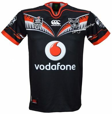New Zealand Warriors NRL 2016 Home Jersey 'Select Size' S-4XL BNWT