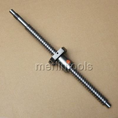SFU1605 Ball Screw L500mm with Ball Nut Both end Machined