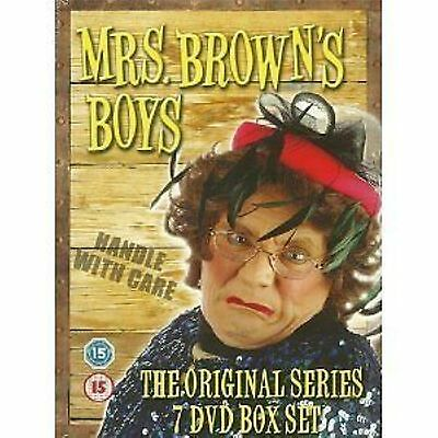 Mrs Browns Boys Series 1-7 Complete Collection Seasons 1 2 3 4 5 6 7 UK R2 DVD