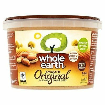 Whole Earth Peanut Butter Smooth 1kg
