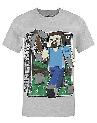 Official Minecraft Vintage Steve Boy's T-Shirt