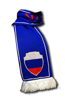Official Russia Rossiya soccer football knitted supporter fan scarf ultras