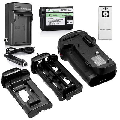 MB-D12 Battery Grip For Nikon D800/D800E/D810 + EN-EL15 Battery +Charger +Remote