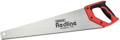 Draper Redline Soft Grip DIY Hardpoint Handsaw 500mm Polished Steel | 80211