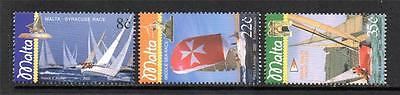 Malta Mnh 2003 Sg1332-1335 Yachting Set Of 3