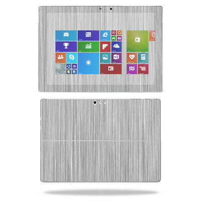 Skin Decal Wrap for Microsoft Surface Pro 4 cover sticker Steel