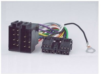mitsubishi 14 pin wiring harness connector adapter for factory radio receivers GM Wiring Harness Connectors