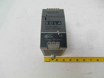Sola 5DN 4-24-100P Din Rail power supply