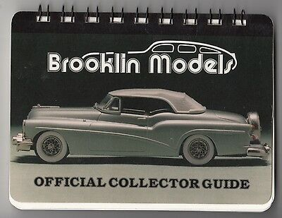 [57121] 1988 Official Brooklyn Models Automobiles Collector Guide