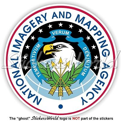US NATIONAL IMAGERY and MAPPING AGENCY Siegel NIMA USA Amerikanische Aufkleber