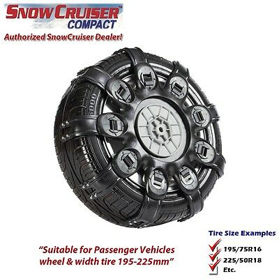 Snow Chain - SnowCruiser Compact 4 Series with New NASA Style Locking System