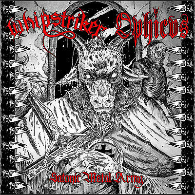 Whipstriker / Ophicvs - Satanic Metal Army CD Heavy Speed Metal 2015 Import