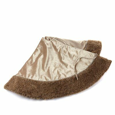 Colin Cowie Faux Fur Trim Tree Skirt 353262 Original $69.00 on Clearance $29.00