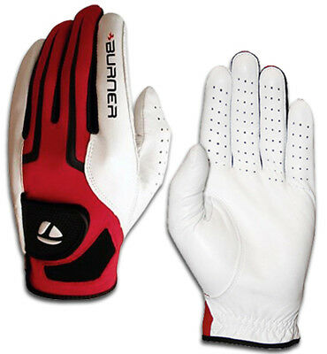 New TaylorMade Burner Mens Cabretta Leather Golf Glove - Goes On Left Hand