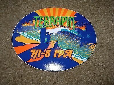 TERRAPIN Athens Georgia Hi-5 IPA STICKER decal craft beer brewing brewery