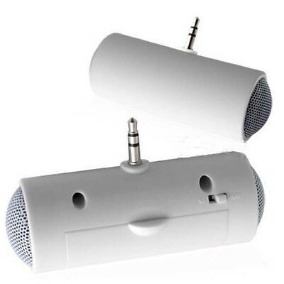 Mini Portable 3.5mm connector Stereo Speaker for iPod iPhone Samsung MP3 MP4